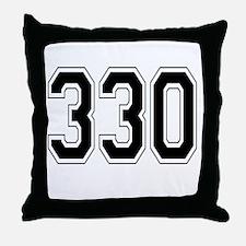 330 Throw Pillow