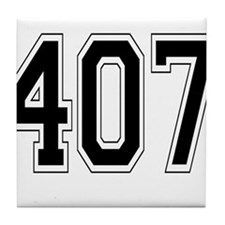 407 Tile Coaster