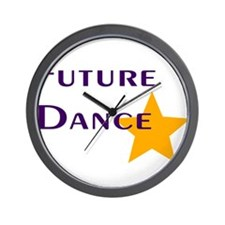 Future Dance Star Wall Clock