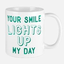 Your Smile Lights Up My Day Mug
