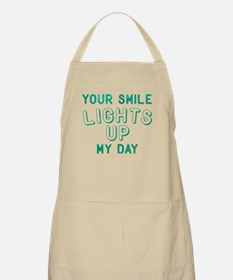 Your Smile Lights Up My Day Light Apron