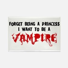 I Want to be a Vampire Rectangle Magnet