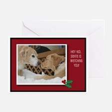 Lager Dog Golden Retriever Greeting Cards (Package