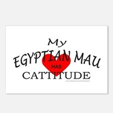 EGYPTIAN MAU Postcards (Package of 8)