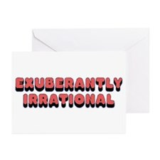 Exuberantly Irrational Greeting Cards (Package of