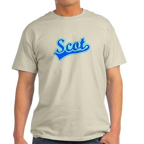 Retro Scot (Blue) Light T-Shirt