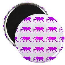Tie Die Monkeys Magnet