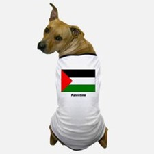 Palestine Palestinian Flag Dog T-Shirt