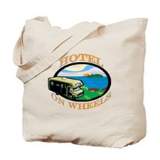 Hotel on wheels Tote Bag