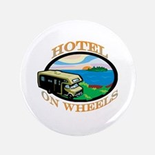 "Hotel on wheels 3.5"" Button"