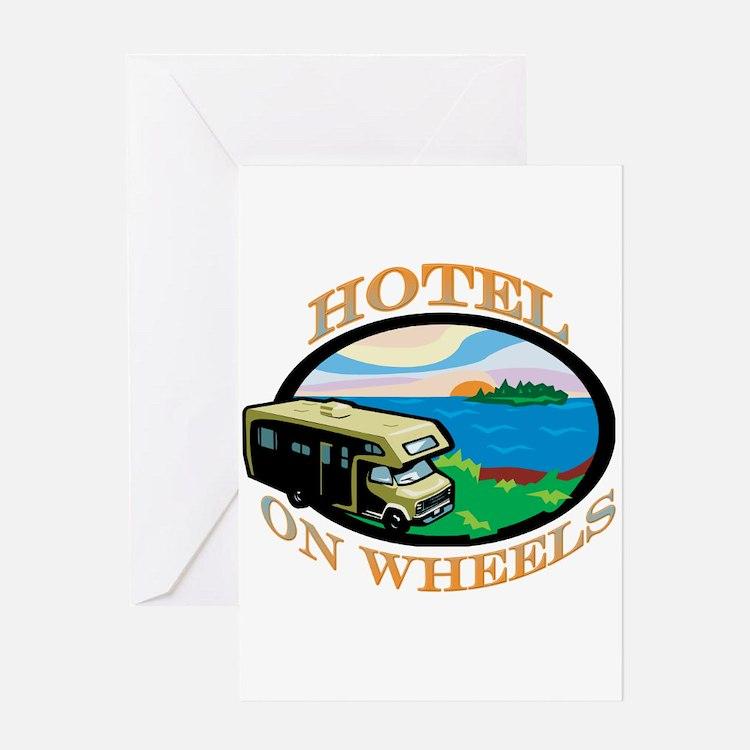 Hotel on wheels Greeting Card
