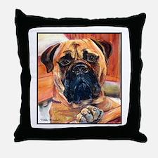 Unique Mastiff Throw Pillow
