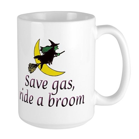 Save Gas Large Mug