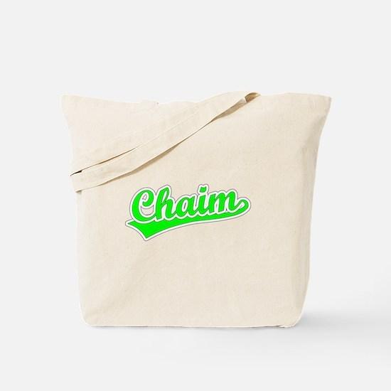 Retro Chaim (Green) Tote Bag