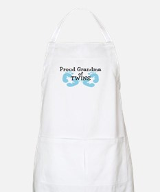 New Grandma Twin Boys BBQ Apron