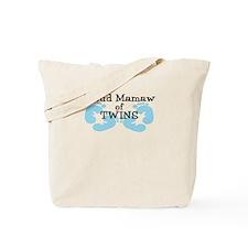 New Mamaw Twin Boys Tote Bag