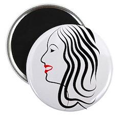 Beautiful Woman Magnet