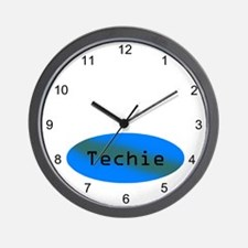 Techie Wall Clock