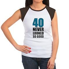 40 Never Looked So Good Women's Cap Sleeve T-Shirt