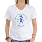 Multi organ Womens V-Neck T-shirts