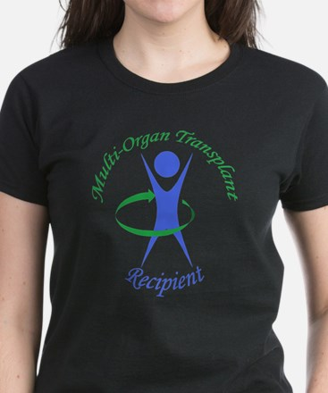 Multi-Organ Transplant Recipi Women's Dark T-Shirt