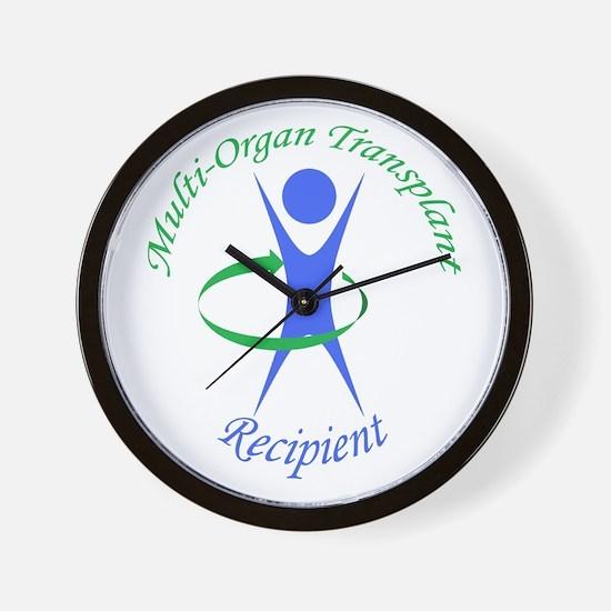 Multi-Organ Transplant Recipi Wall Clock