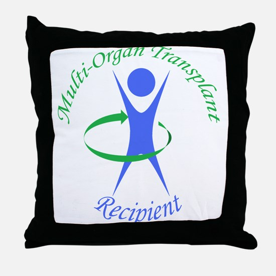 Multi-Organ Transplant Recipi Throw Pillow