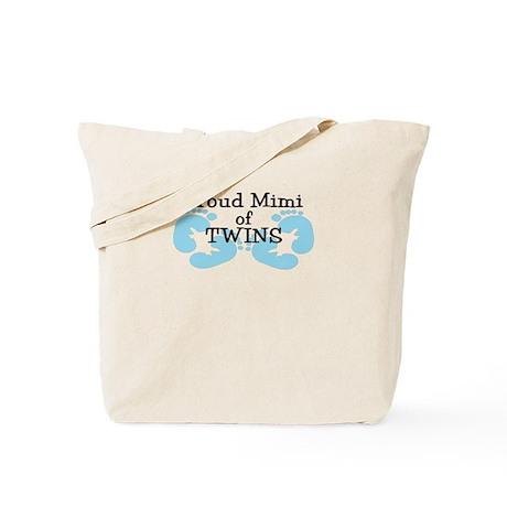 New Mimi Twin Boys Tote Bag
