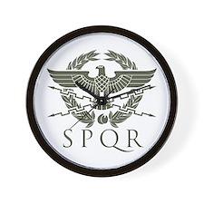 Praetorian SPQR Wall Clock