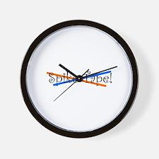 Spike Tape Wall Clock