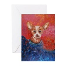 Chihuahua Blues Greeting Cards (Pk of 20)