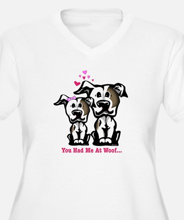 You Had Me at Woof Pit Bull T-Shirt
