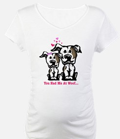 You Had Me at Woof Pit Bull Shirt
