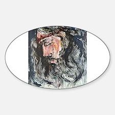 Gethsemane to Golgotha Oval Decal