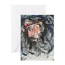 Gethsemane to Golgotha Greeting Card