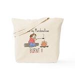 Burnt Marshmallows Tote Bag