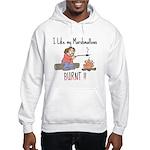 Burnt Marshmallows Hooded Sweatshirt