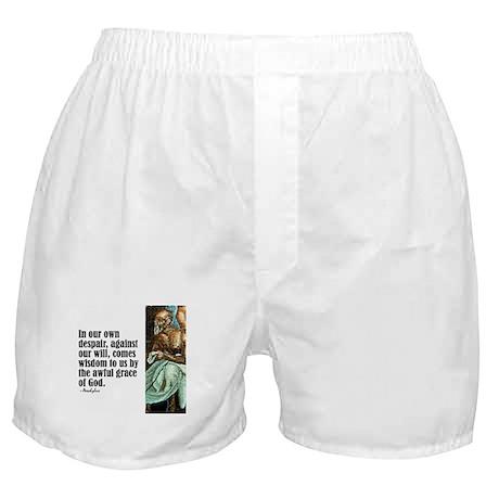 """Aeschylus """"Wisdom"""" Boxer Shorts"""