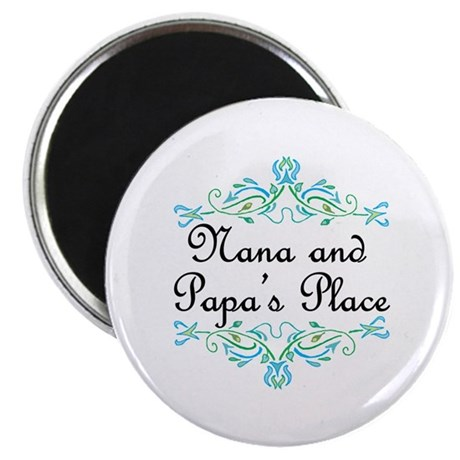 "Nana and Papa's Place 2.25"" Magnet (100 pack)"
