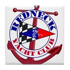 Redneck Yacht Club Tile Coaster