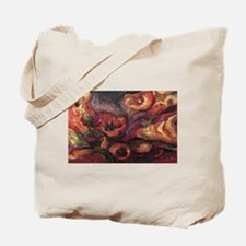 Floral Sun Worship Tote Bag