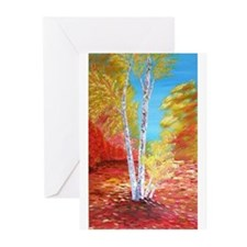 Autumn Birch Greeting Cards (Pk of 10)