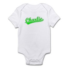 Retro Charlie (Green) Infant Bodysuit