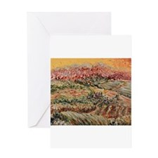 Golden Provence Greeting Card