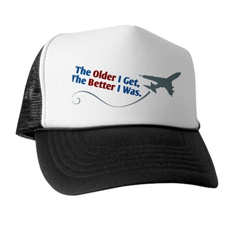 Retired Pilot Trucker Hat