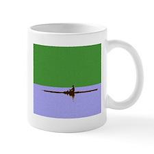 ROWER GREEN BLUE PAINTED Small Mug