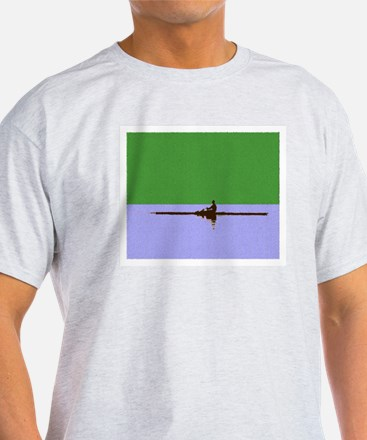 ROWER GREEN BLUE PAINTED T-Shirt