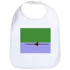 ROWER GREEN BLUE PAINTED Bib
