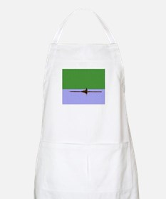 ROWER GREEN BLUE PAINTED BBQ Apron