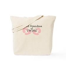 New Grandma Twin Girls Tote Bag